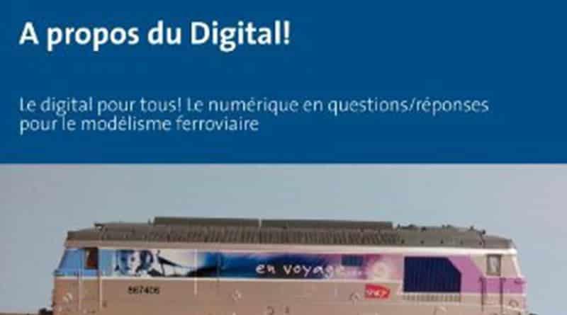Livre modelisme ferroviaire a propos du digital