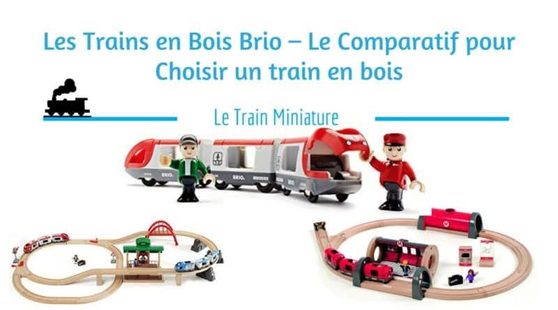 Train en bois Brio